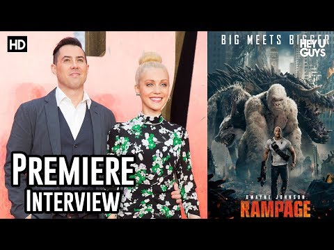 Breanne Hill - Rampage European Premiere Interview