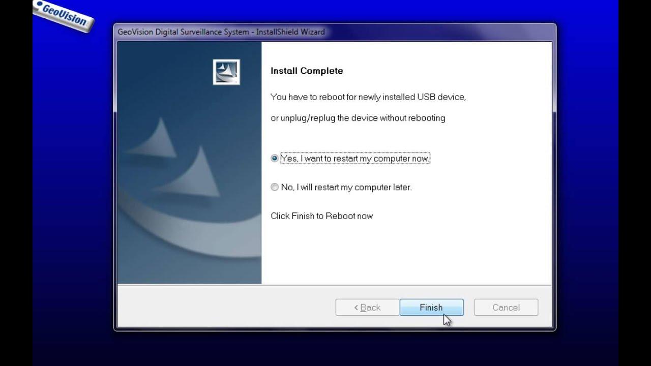 Video Tutorial: Installing Multicam of GeoVision Software ...