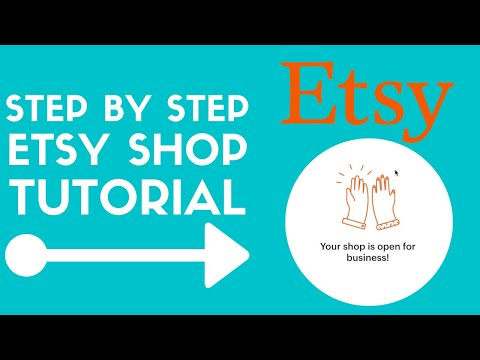 How To Start An Etsy Shop For Beginners 2021 | Etsy Store Setup Tutorial