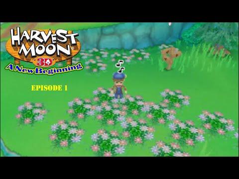 Lets Play Harvest Moon A New Beginning Episode 1 A Well...New Beginning!