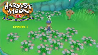 Lets Play Harvest Moon A New Beginning Episode 1 A Well...New Beginning!