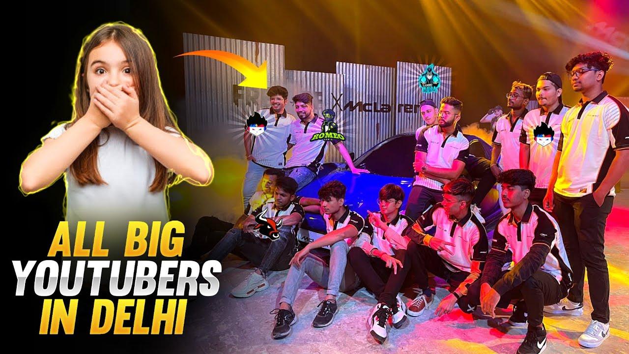 YOUTUBERS IN DELHI FULL MASTI Vlog 😊😊 !! #xmania #Freefire