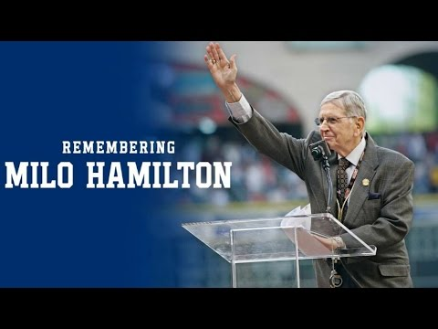 OAK@HOU: Astros remember Milo Hamilton