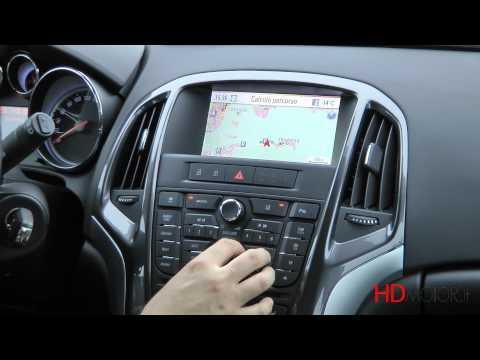 Opel Astra Sports Tourer Infotainment