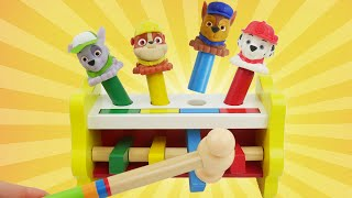 paw patrol best learning colors preschool peg table toy for kids toddlers teach mashems surprises