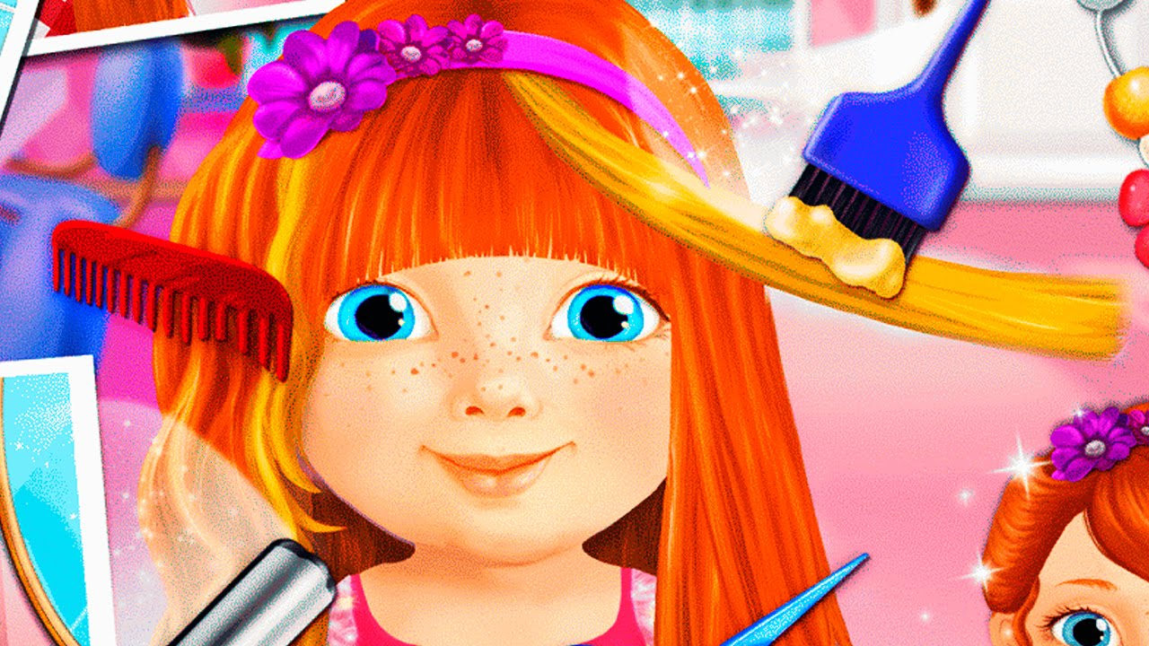Sweet baby girl beauty salon 2 android gameplay hd video youtube