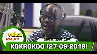 KOKROKOO DISCUSSION SEGMENT ON PEACE 104.3 FM (27/09/2019)