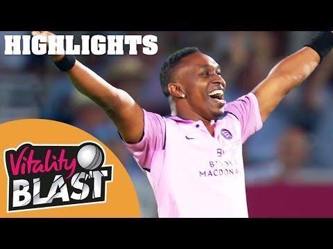 Bowlers Spark Sensational Comeback | Middlesex v Hampshire | Vitality Blast 2018 - Highlights