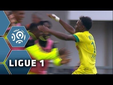 But Georges-Kévin NKOUDOU (33') / EA Guingamp - FC Nantes (0-1) -  (EAG - FCN) / 2014-15