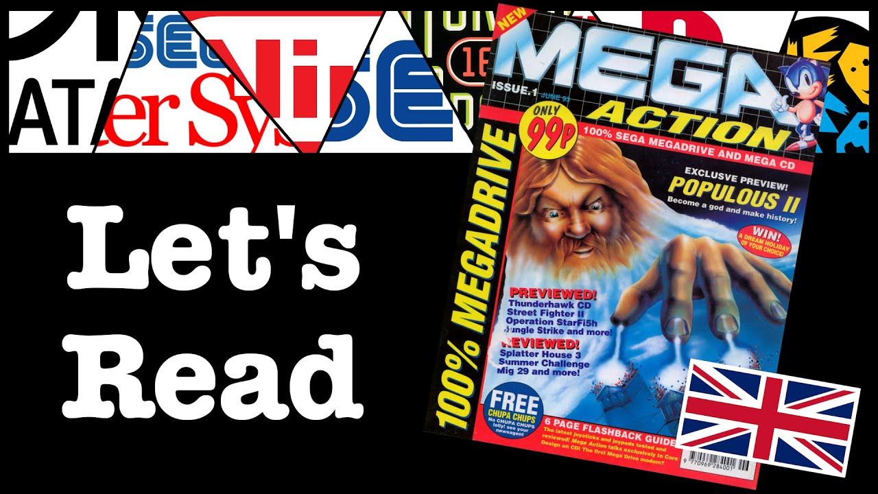 Mega Action Issue #1 - June 1993 | CGQ