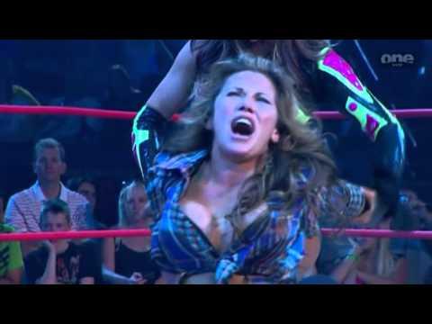 TNA Mickie James(wrestling debut) vs. Sarita