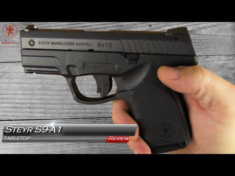 Steyr S9 A1 Tabletop Review and Field Strip