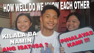 How well do you know each other challenge (SIBLINGS EDITION) | RodTV