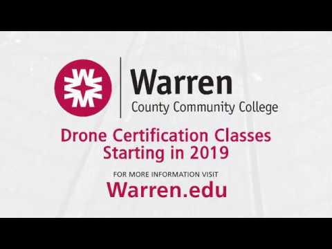 Warren County Community College Drone Certification