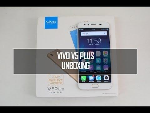 Vivo V5 Plus Unboxing In Hindi