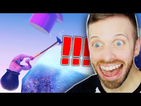 I'VE NEVER BEEN SO... HAPPY!? • Getting over It Gameplay (part 4)