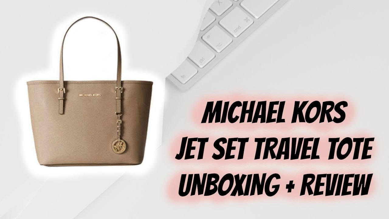 4ce536caf8d4 Bag Review Michael Kors Jet Set Travel Tote Bag - YouTube