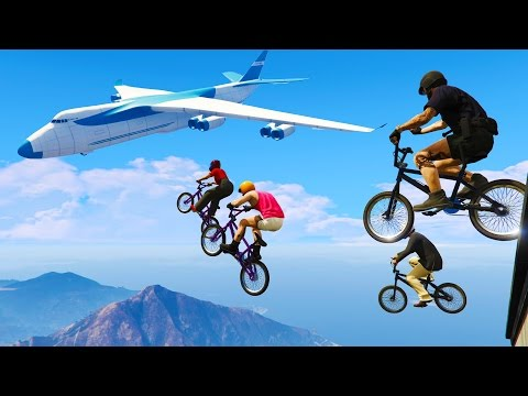 Awesome SkyHigh Maps!! (GTA 5 Funny Moments)