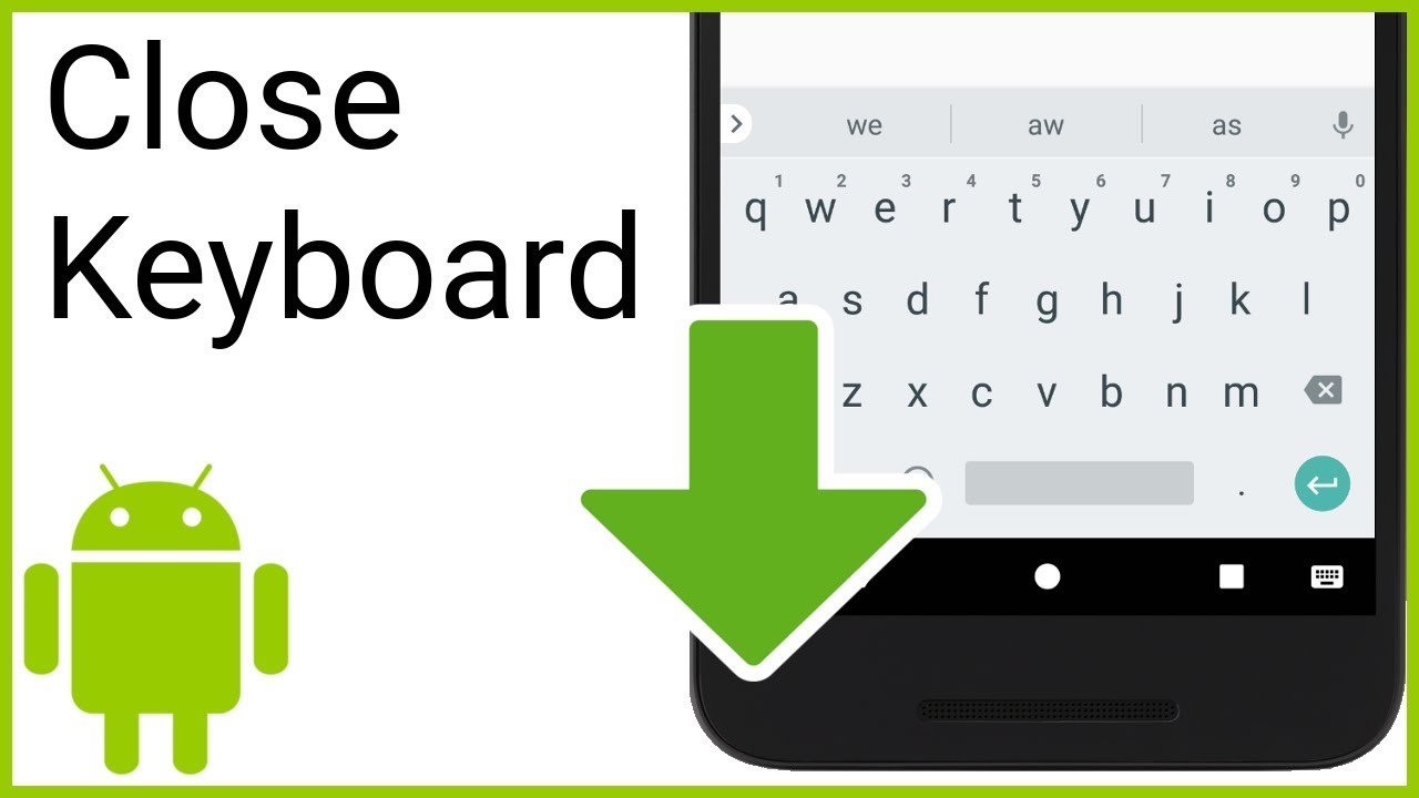 How to Hide the Soft Keyboard Programmatically - Android Studio Tutorial