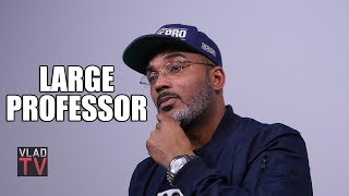 Large Professor on Working with Big L: \