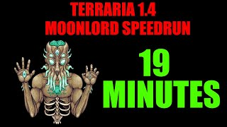 Terraria 1.4 Moonlord Speedrun | 19 Minutes World Record