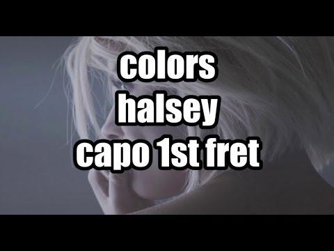 colors halsey lyrics and chords
