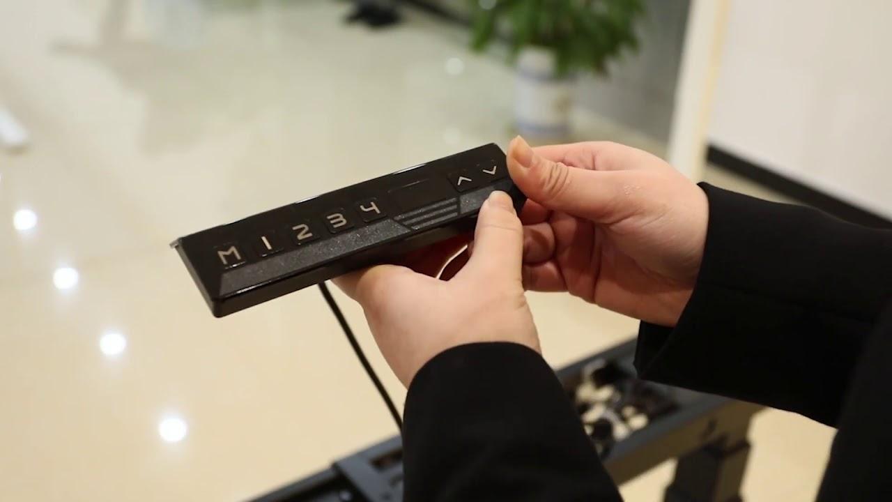HDNT33-2A3 - Chân bàn nâng hạ điện 3 khớp trên