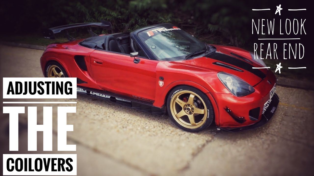 Coilovers And Bumper Mr2 Spyder Roadster Turbo Youtube