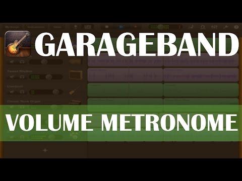 Garageband: Volume Metronome