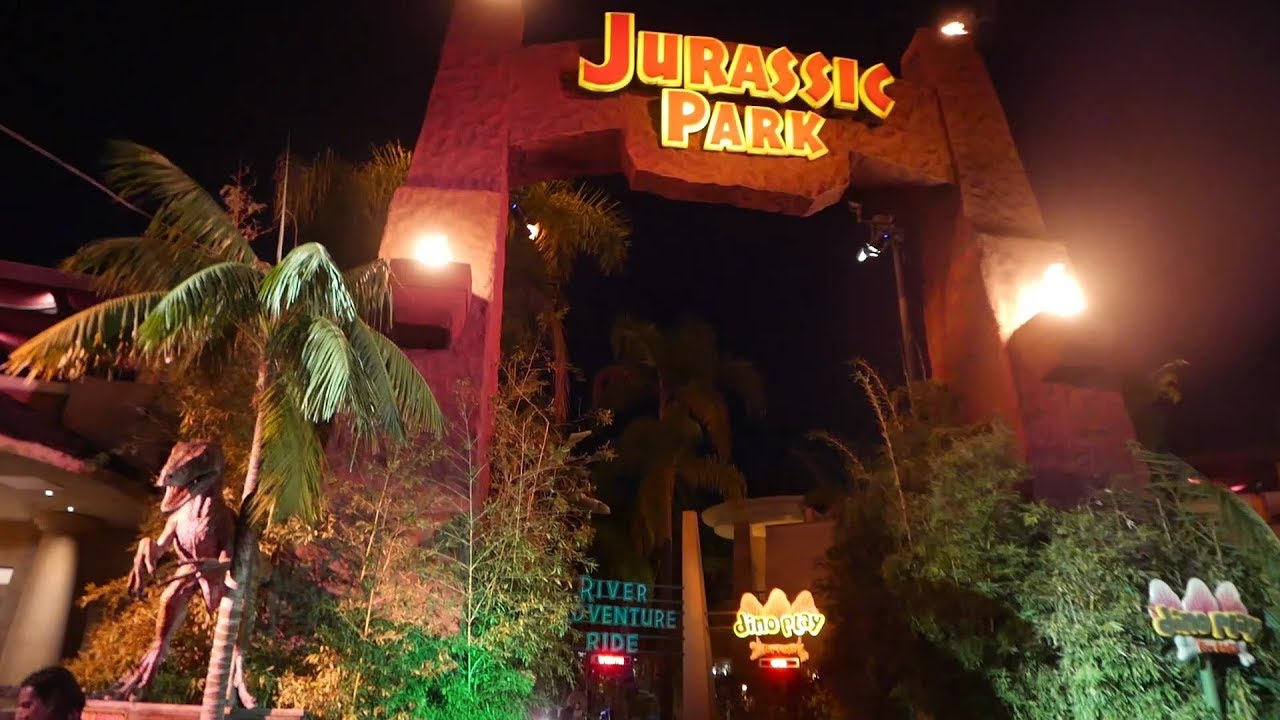 7 Inspiring Kid Room Color Options For Your Little Ones: Jurassic Park Ride Universal Studios Hollywood Full Ride