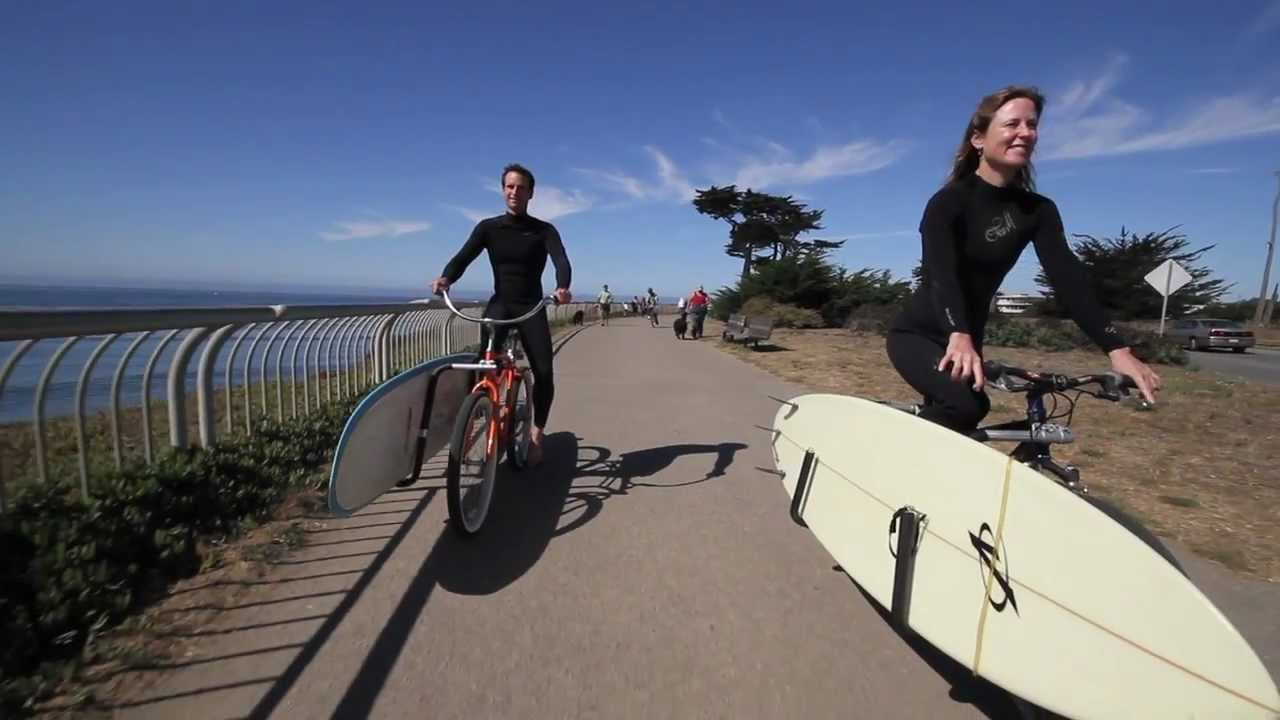 How To Make A Bike Rack For A Surfboard