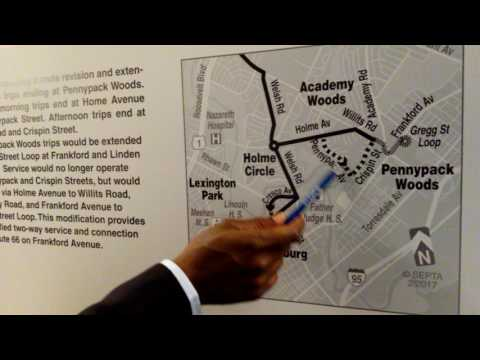 SEPTA FY2018 Annual Service Planning Open House