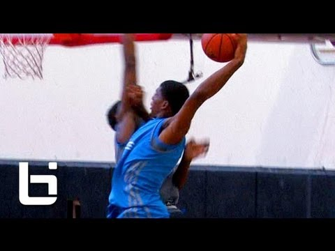 6'5 Justise Winslow Skilled Lefty With BOU...