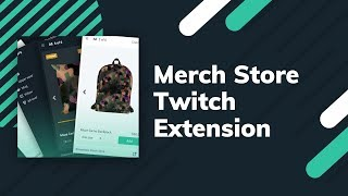 Streamlabs Merch Store Twitch Extension | Make it easier to shop for your merch!