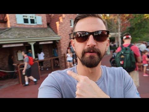 A Trip To Magic Kingdom at Walt Disney World!   Foot Long Corn Dog, Rides & Fireworks From The Ferry