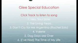 Glee The Time of My Life Cast Version with Lyrics from Special Education episode 2x09