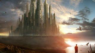 Viajeros en el tiempo en ciudades del futuro