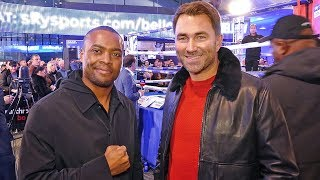 EDDIE HEARN: Anthony Joshua WILL RENEGOTIATE Deontay Wilder FIGHT if vs Fury does 1M PPV BUYS!