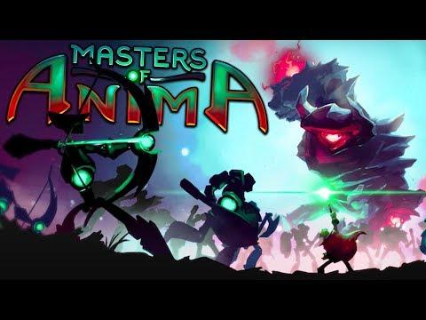 Masters of Anima - Giant Golems vs Huge Summoned Armies - Masters of Anima Gameplay