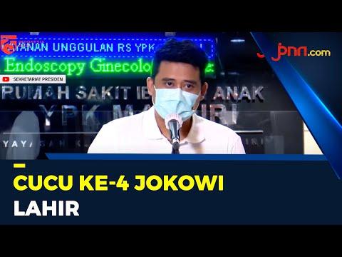 Kahiyang Ayu Lahirkan Anak Kedua, Jokowi Kini Punya 4 Cucu