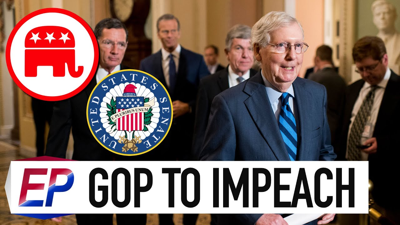 BREAKING: Mitch McConnell Wants to Impeach President Trump