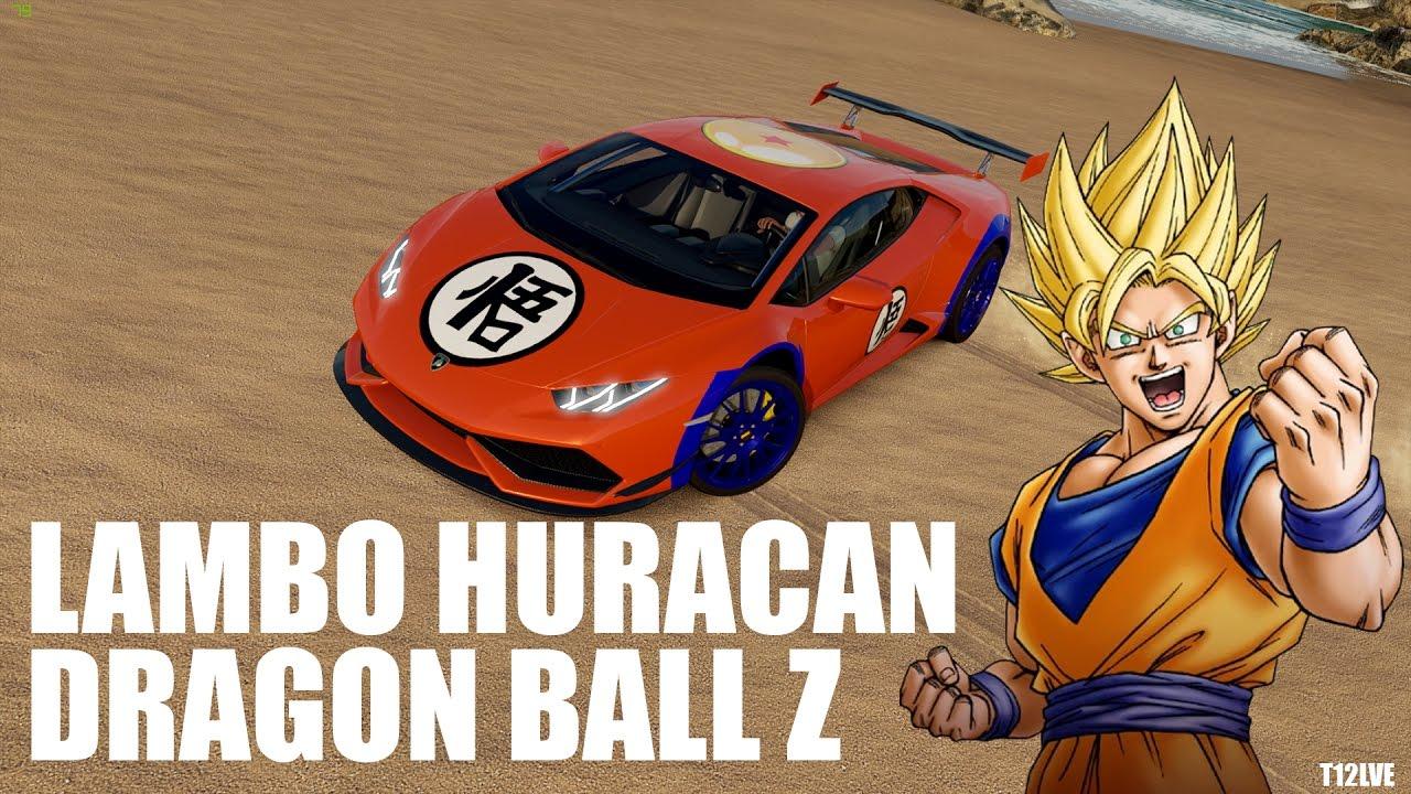 Forza Horizon 3 Lamborghini Huracan Dragon Ball Z Fr 1080p Youtube