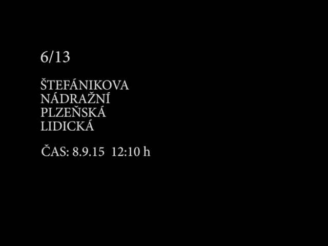 Náhled videa: Tóny pražských křižovatek