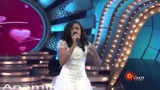 Anamika  .. singing ......A .R. Rahman .... song -- Nenjukkulle