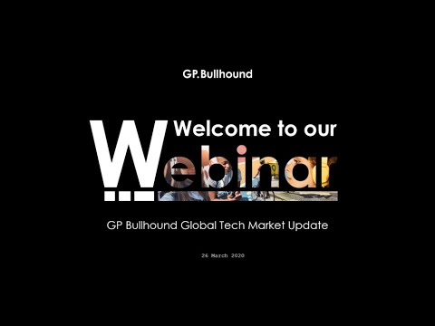 GP Bullhound - Webinar Global Tech Market Update 26032020