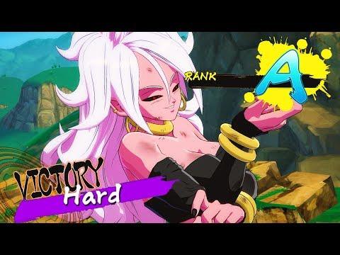 HOW I GOT AN A RANK ON (HARD) SNAKE WAY COURSE   Dragon Ball FighterZ Arcade Mode