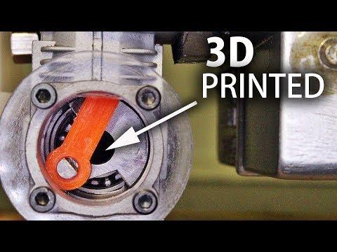 0 - 3D-gedrucktes Pleuel für Modellbau-Verbrennungsmotor