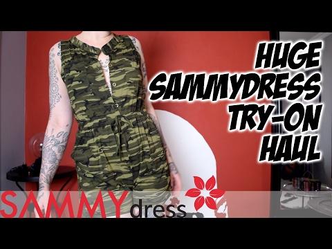 Huge SammyDress try-on haul