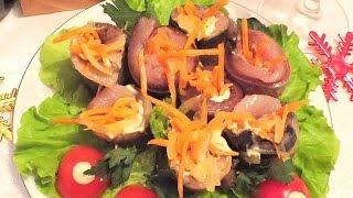 Рулетики из сельди  рецепт блюда из селедки закуска праздничный стол