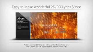 Easy Video Maker, free and easy to Edit, Create, Make Videos.